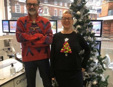 Christmas Jumper Day In Full Swing!