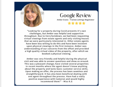 5* Star Google Review!