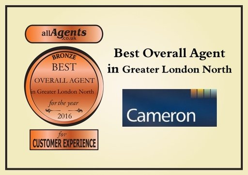 Best Overall Agent in Greater London Narth Bronze 2016