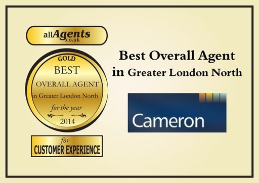 Best Overall Agent in Greater London Narth Gold 2014