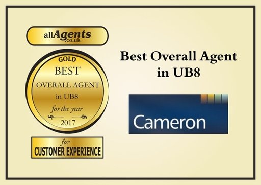 Best Overall Agent in UB8 Gold 2017