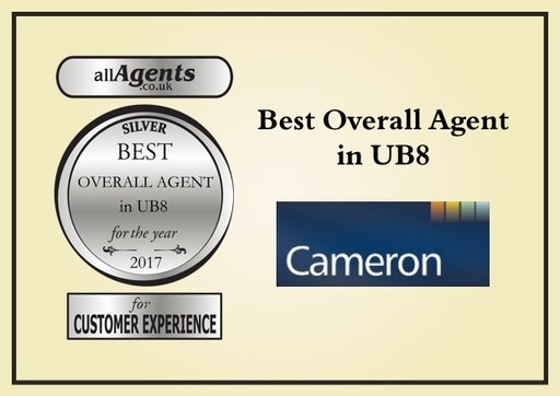 Best Overall Agent in UB8 Silver 2017